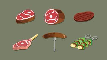 Vecteur gratuit de veau
