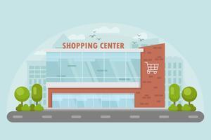 Vecteurs de centre commercial gratuit vecteur
