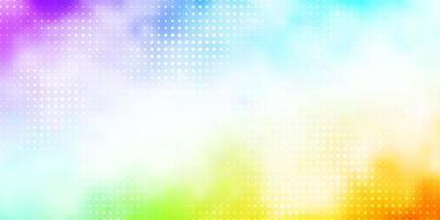 modèle multicolore avec des cercles.