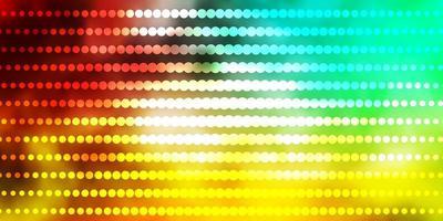 modèle multicolore avec des cercles. vecteur