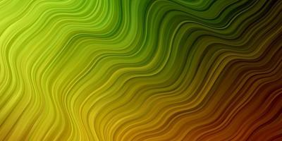 fond vert avec des lignes pliées. vecteur