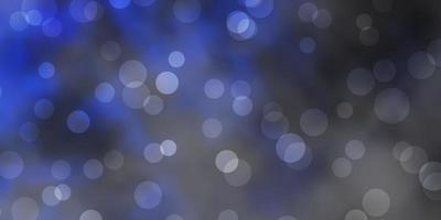 motif bleu foncé avec des sphères. vecteur