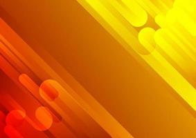 diagonale rouge et jaune de style moderne abstrait vecteur