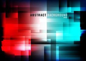 lumières géométriques abstraites fond moderne et rougeoyant vecteur