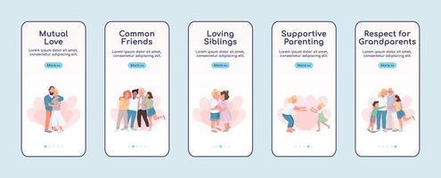 application mobile d'intégration d'affection