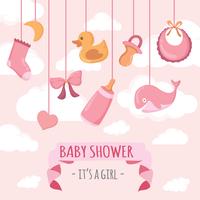 Babyshower Illustration vectorielle vecteur