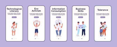 application mobile d'intégration des traits de la génération z
