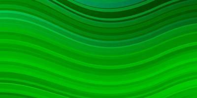 fond vert clair avec des lignes courbes.