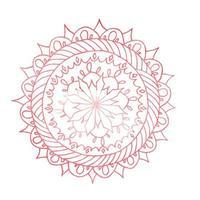mandala zentangle pour cahier de coloriage. vecteur