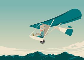 Planeur piloté par l'homme