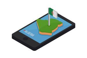 Vecteurs iconiques gratuits d'Algérie vecteur