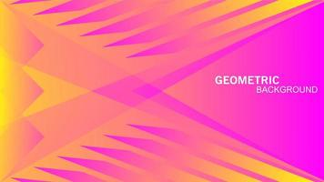 triangles géométriques sans soudure en abstrait de couleur rose jaune