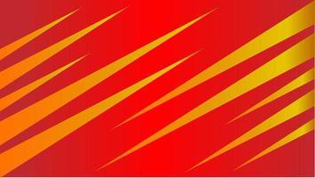 Griffes de foudre fond abstrait avec couleur rouge jaune vecteur