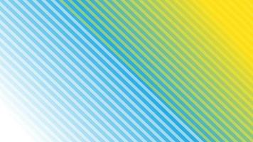 rayures diagonales abstraites avec dégradé bleu et jaune