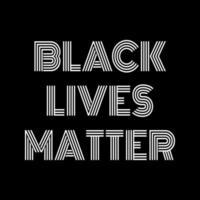 les vies noires comptent le texte