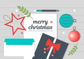 Éléments de conception de Noël vecteur libre