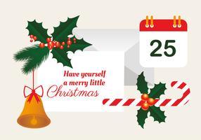 Fond de vecteur de Noël gratuit