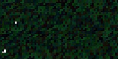 fond vert dans un style polygonal. vecteur