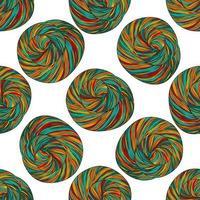 motif de pelotes de laine vecteur