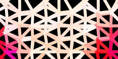 toile de fond triangle abstrait rouge clair. vecteur