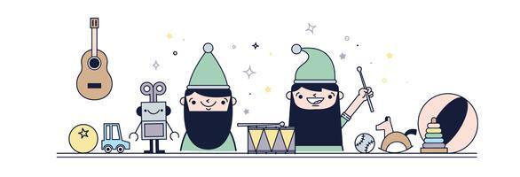 Vecteur d'atelier Elf