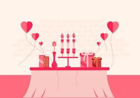 Conception de fond de Valentine vecteur