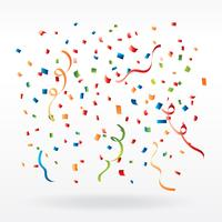 Vecteur de confettis