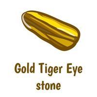 pierre oeil de tigre d'or