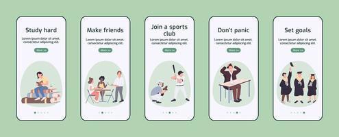 application mobile d'intégration de l'expérience étudiante