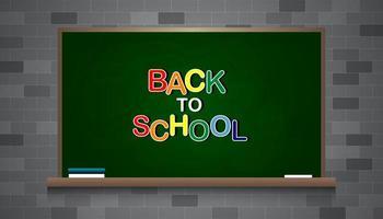 retour au tableau de l'école