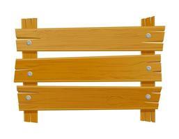 modèle vide de planche vintage rétro en bois