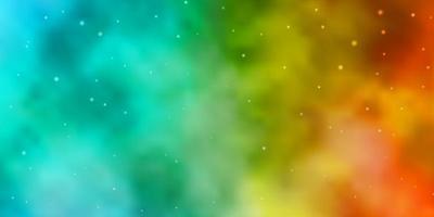texture bleu clair et jaune avec de belles étoiles. vecteur