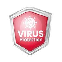 conception de bouclier de protection antivirus covid 19