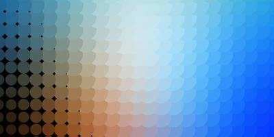 texture bleu clair, jaune avec des cercles.