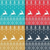 motif tricoté ornemental traditionnel sans soudure vecteur