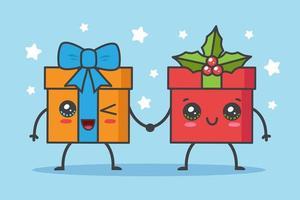 cadeaux de Noël kawaii
