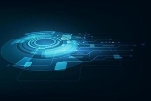 technologie future abstraite de vecteur, fond de télécommunications électriques
