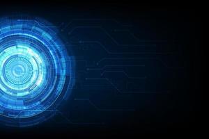 fond de circuit de technologie abstraite