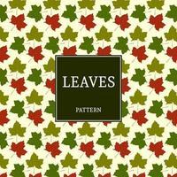 motif de feuilles d'automne