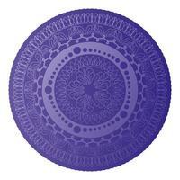 mandala de couleur violet clair