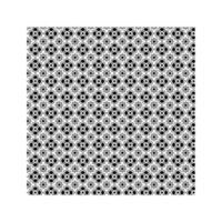 motif d & # 39; icônes de trèfle mexicain sur fond blanc