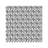 motif d & # 39; icônes de cactus mexicain sur fond blanc