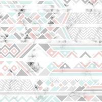 conception de texture de marbre avec des lignes géométriques blanches vecteur