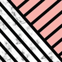 conception de texture de marbre avec des formes géométriques