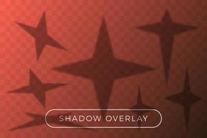 ensemble de superposition d'ombre étoile