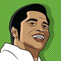 James Brown Pop Art vecteur
