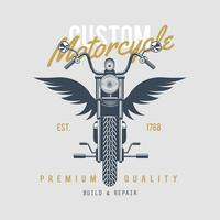 Emblème de motos Vintage