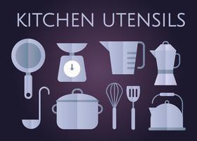 Vecteur d'ustensiles de cuisine