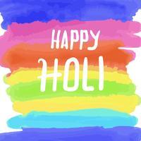 Bonne couleur de l'eau Holi