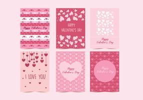 Valentine Cartes Vol 2 Vecteur